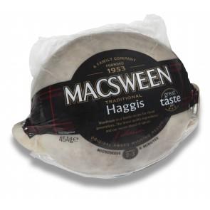 Macsween Haggis serves 2-3 (nominal weight 454g)